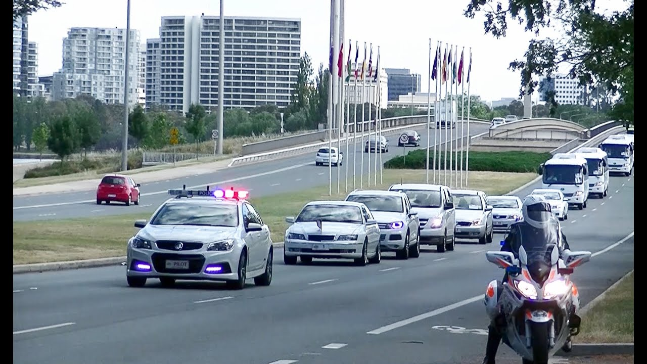 Motorcade Of French President François Hollande In