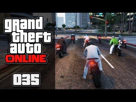 GTA ONLINE [HD+] #035 - Rennmäuse & Ballerbuben ★ Let's Play GTA Online
