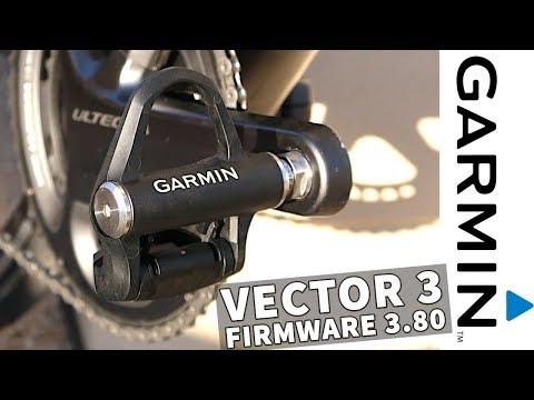 Garmin Vector 3 Power Meter Firmware Update 3.80 // Lots Of Fixes!