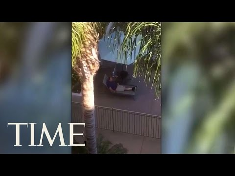 Video Footage Of Shooter Opening Fire At...