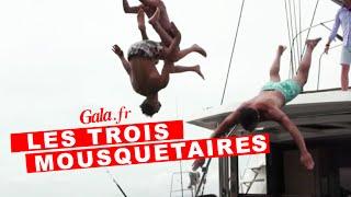 Olivier Dion, Damien Sargue et Brahim Zaibat sautent à l'eau !