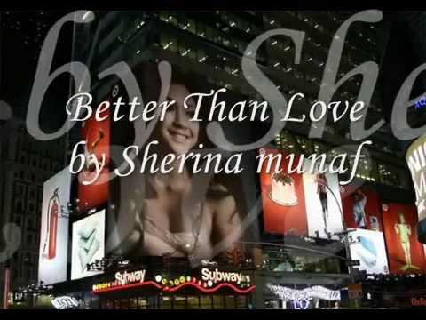 sherina munaf Better Than Love lyric