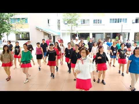 Pepito—Christmas Line Dance Party 9 Dec 2017 @ Tampines Changkat Zone 4 RC