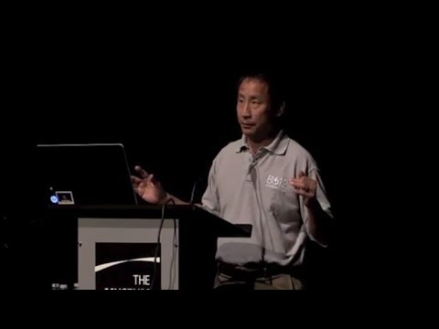 Dr Ed Lu's presentation at the Museum of Flight, Seattle