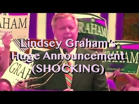 Lindsey Graham's Huge Announcement (SHOCKING)