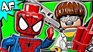 Spiderman DOC OCK Truck Heist 76015 Lego Marvel Super Heroes Animated Building Review