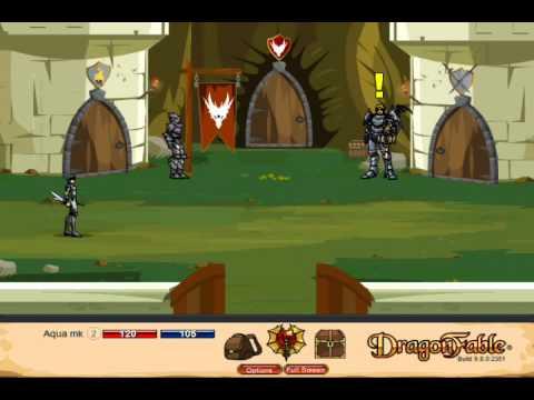 Let's Play Dragon Fable Pt 1 - The Dragon Egg Saga - Self Experiment...