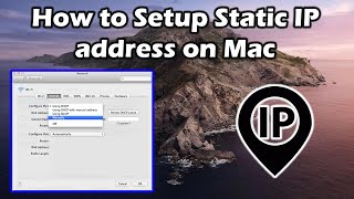 How To Setup Static IP address…
