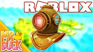 HOW TO GET THE DIVER'S HELMET - ROBLOX ATLANTIS
