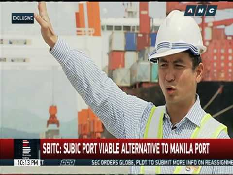 Subic port viable alternative to Manila port: SBITC