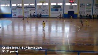 Juvenis (Campeonato AFC): CS São João 7-4 CF Santa Clara