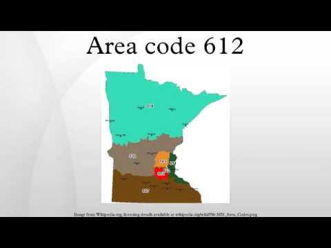 Area code 612