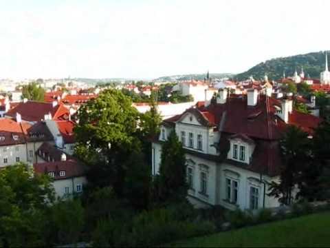 Prague Travel: Dinner at Villa Richter on Prague's Castle Hill
