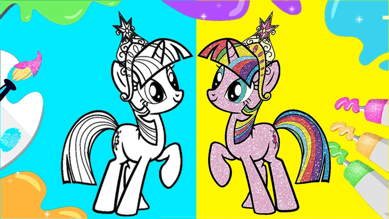 My Little Pony 🎨 My Little Pony Art Drawing Activity Set 🎨 Drawing & Coloring for Kids