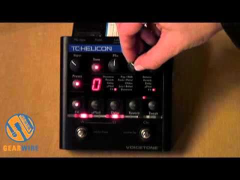 TC Helicon VoiceTone Create XT Demo: Studio Sounds In A Live Setting (Video)