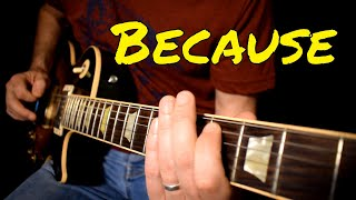 The Beatles - Because cover - instrumental