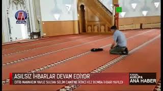 Ana Haber - DITIB Mannheim Camii'ne ikinci kez Bomba ihbarı yapıldı - 05.12.2019   Kanal Avrupa