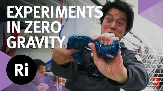 Weightless Water - Experiments In Zero Gravity