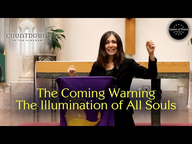 Christine Watkins explains the subject of her book, THE WARNING (the Illumination of Conscience)