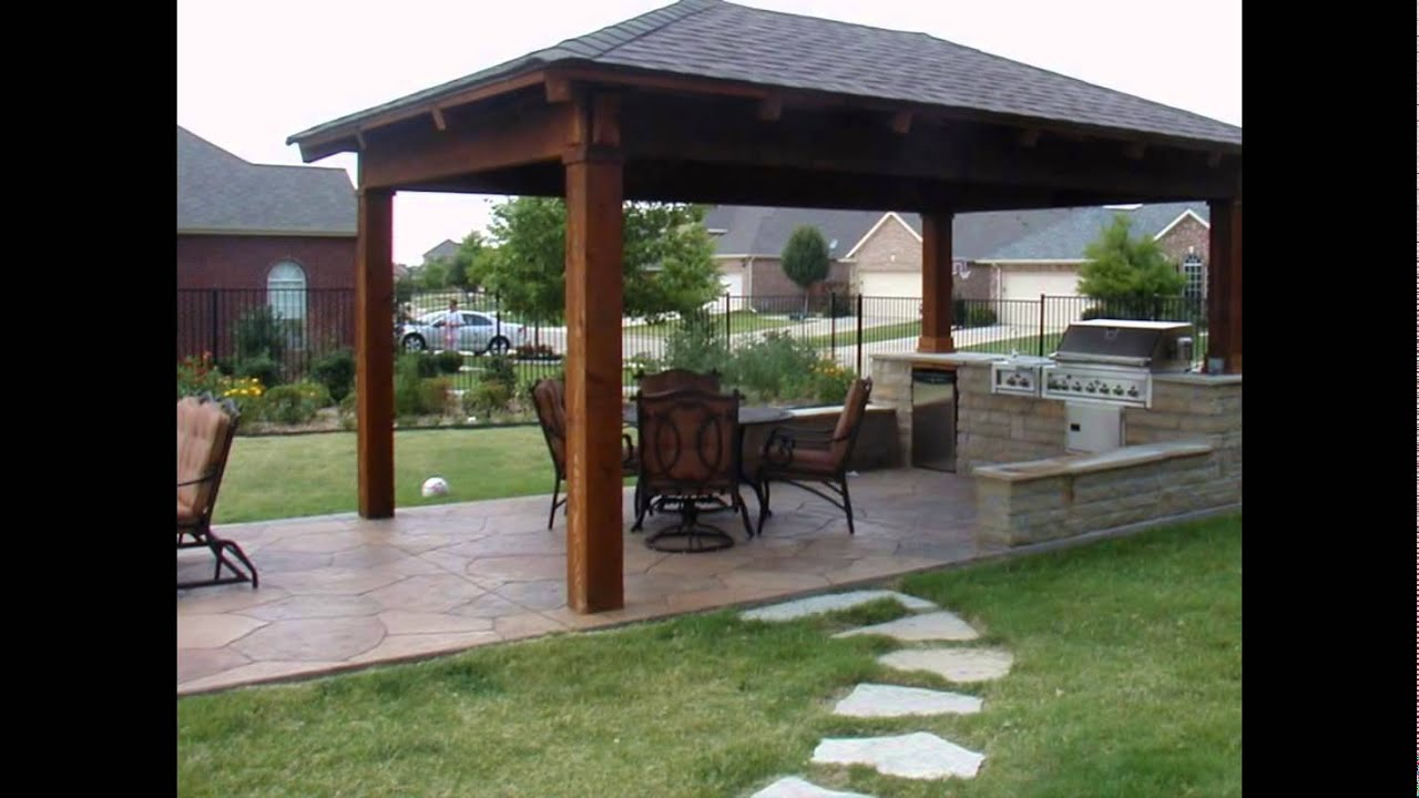 patio roof ideas - YouTube on Backyard Porch Ideas id=47086