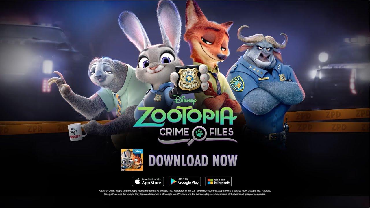 Disney  Zootopia: Crime files