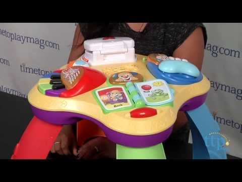Fisher Price Laugh Learn Learning Table - YouTube