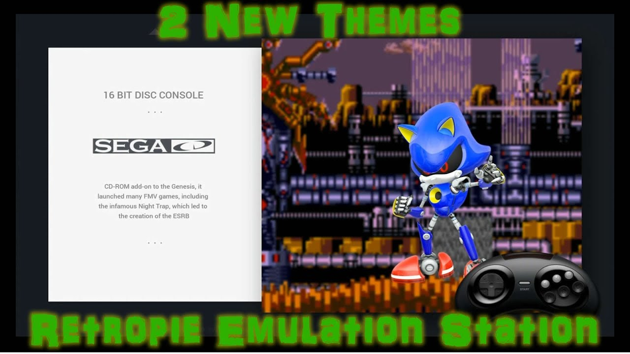 Brand New Emulation Station Retropie Themes Available Now - SCV720