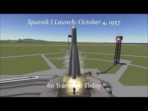 60th Anniversary: Sputnik 1 Launch in KSP