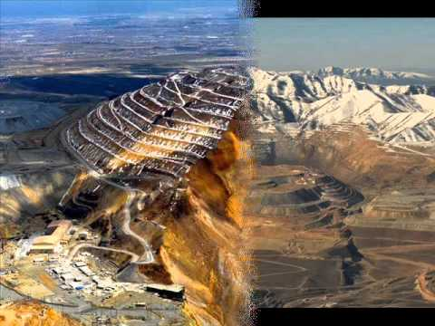 Bingham Canyon Mine, The Largest Open-Pit Mines in the World