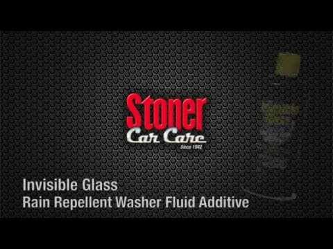 Invisible Glass Rain Repellent Washer Fluid Additive