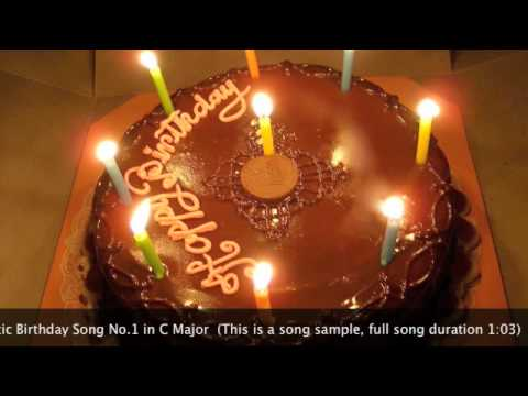 Best Romantic Birthday Song No.1  for Lovers by Miranda Wong (Piano Solo)