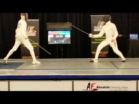 2015 Summer Nationals Y14 ME Final - Griffiths Vs. Lombardo