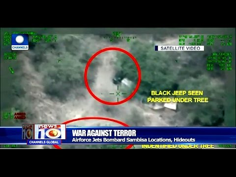 News@10: Air Force Jets Bombard Boko Haram Logistics Base In Sambisa 21/05/17 Pt.1