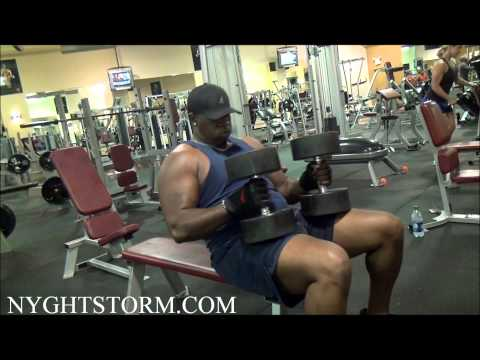 FATHER & SON EXTREME WORKOUT @ GOLDS GYM by Y.G. Nyghtstorm
