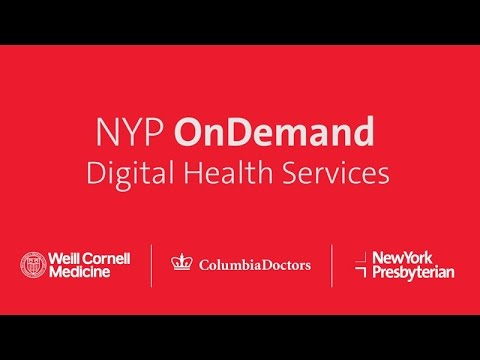 NYP OnDemand: A Suite of Online Services | NewYork-Presbyterian
