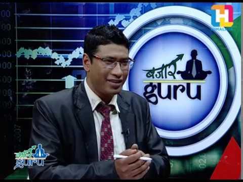 Bazaar guru with Deputy Chief Executive Officer Manoj Gywali