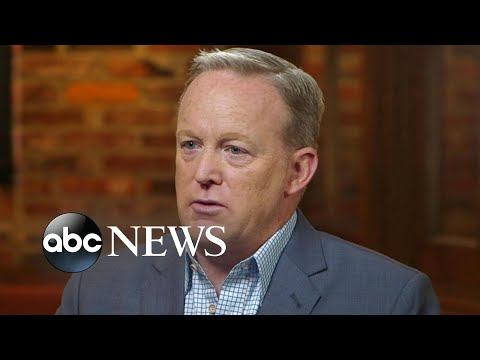 Sean Spicer on his tumultuous time serving President Trump