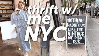 Thrifting for the first time in New York! Vintage shopping in Williamsburg