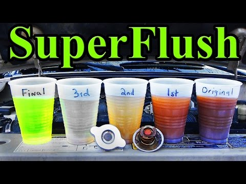 How to SUPER FLUSH your Cars Cooling System