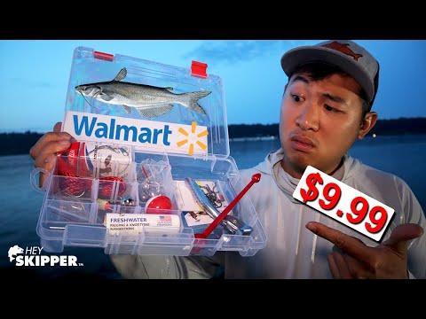 Walmart Fishing STARTER Kit: Budget Fishing Tackle?