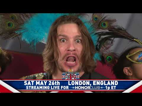 Dalton Castle defends ROH World Championship THIS SATURDAY in London