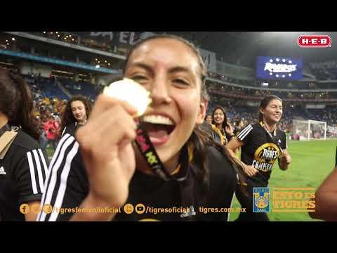El festejo inolvidable de las jugadoras al obtener su segundo campeonato de la Liga Mx Femenil