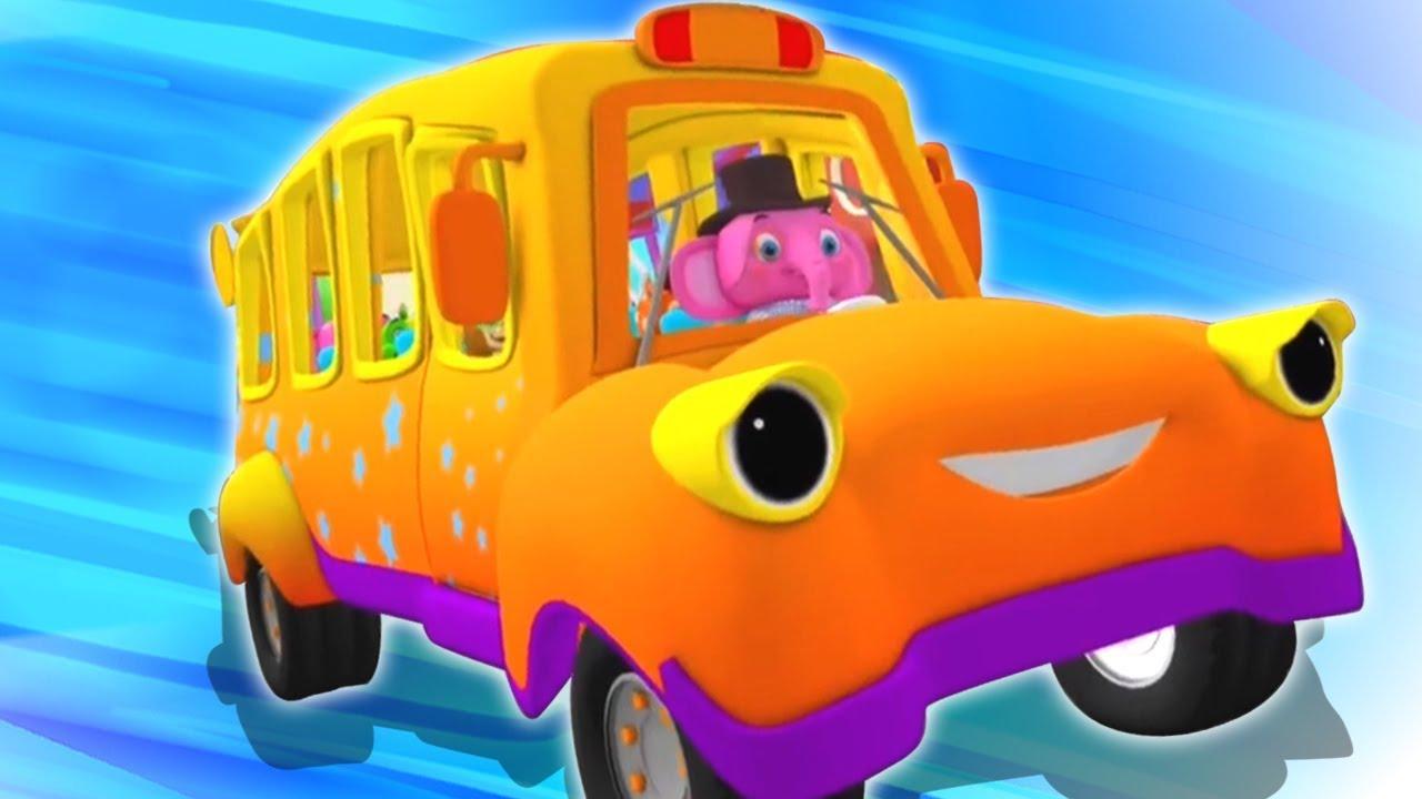 Roda Di Bus Lagu Anak Kartun Anak Lagu Anak Terpopuler