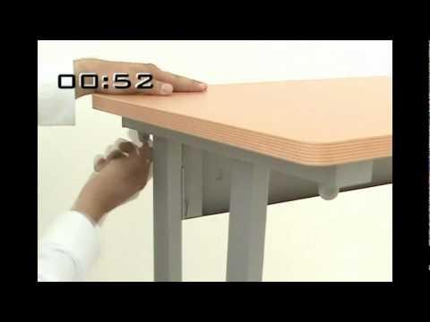 La m nera mas f cil de armar un mueble muebles para oficina l nea italia youtube for Muebles de oficina con llave