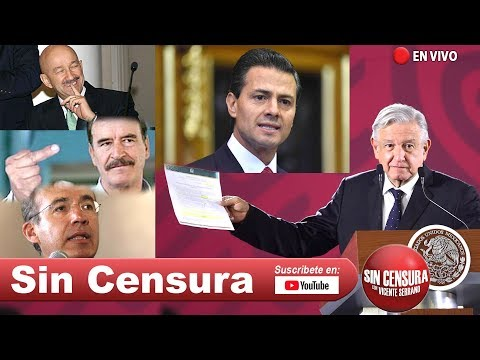 EN VIVO ¿Juicio a expresidentes? ¿Si o no? Presentamos a #AMLO corrupción de #VicenteFox 6/20/2019