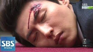 송재희, 박형준 납골묘에서 피습당해 @나만의 당신 103회