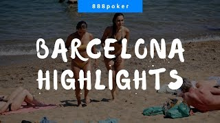 Highlights from the 888poker Live in Barcelona
