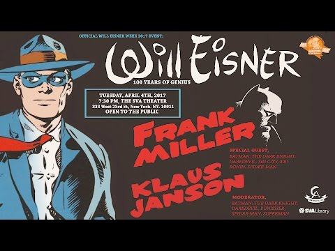 Frank Miller and Klaus Janson - 100 Years of Genius: The Life and Legacy of Will Eisner