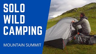 Wildcamping & Hillwalking - Beinn Ime - Arrochar Alps