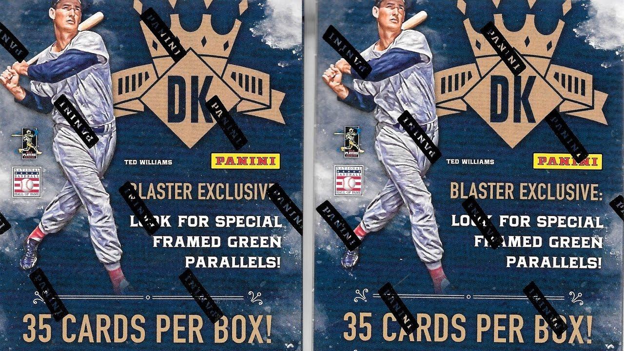 2017 Panini Diamond Kings Baseball 2 Retail Blaster Break Auto